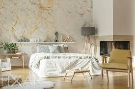 harmonie aus marmor fototapete fürs schlafzimmer