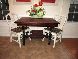kitchen table Restore Kitchen Table How To Refinish Carved