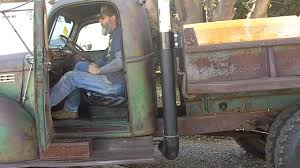 100 Truck Exhaust Stacks 1942 Chevy Dump Stack Project YouTube