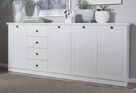 sideboard baxter in weiß 195 x 88 cm kommode im landhausstil