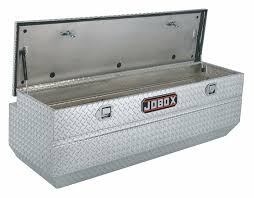 100 Aluminum Truck Box JOBOX Chest Silver Single 170 Cu Ft 4NY47