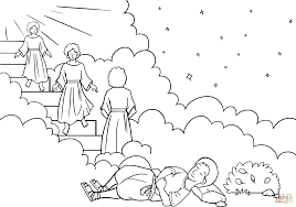 Click The Jacobs Ladder Dream Coloring Pages To View Printable Version Or Color It Online Compatible With IPad And Android Tablets