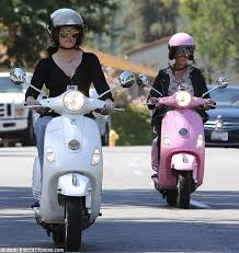 Safety First The Kardashians Made Sure To Wear Helmets But In Chic Style Of