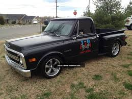 100 1969 Chevy Trucks C 10 C10 Truck Hot Rod Rat Shop Truck Custom Chevrolet