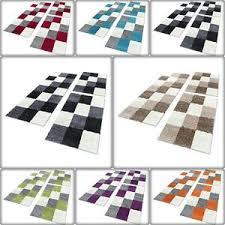 details zu shaggy hochflor teppich carpet 3tlg bettumrandung läufer set schlafzimmer flur