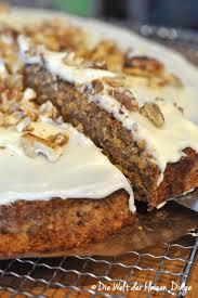 kürbis apfel kuchen mit haferflocken und frischkäseguss