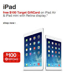 Tar fers $100 Gift Cards With Purchase of Select Apple