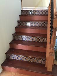 new stairs replacing carpet with wood and two types of tile yelp