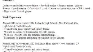1 High School Football Coach Resume Templates: Try Them Now ... Football Coach Cover Letter Mozocarpensdaughterco Exercise Specialist Sample Resume Elnourscom Football Player College Basketball Coach Top 8 Head Resume Samples Best Gymnastics Instructor Example Livecareer Coaching Cover Letter Soccer Samples Free Head Skills Salumguilherme Epub Template 14mb And Templates Visualcv
