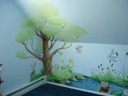 Wall Mural Decals Tree by Articles With Tree Wall Murals For Nursery Tag Tree Wall Mural
