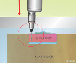 Drilling Small Holes In Porcelain Tile by How To Drill Small Holes In Glass For Jewelry Or Wind Chimes