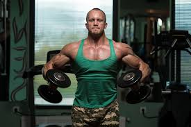 Reverse Pec Deck Flyes With Dumbbells by Lateral Raise With Bent Arms Livestrong Com