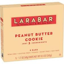 Larabar Fruit And Nut Bar Peanut Butter Cookie