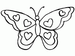 Impressive Butterfly To Color Free Downloads For Your KIDS