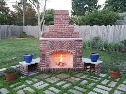 Backyard Fireplace Designs Best 25 Outdoor Fireplaces Ideas