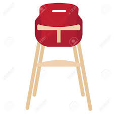Vector Illustration Red Baby Chair For Feeding. High Wooden Chair. Luvlap 3 In 1 Convertible Baby High Chair With Cushionred Wearing Blue Jumpsuit And White Bib Sitting 18293 Red Vector Illustration Red Baby Chair For Feeding Wooden Apple Food Jar Spoon On Highchair Grade Wood Kids Restaurant Stackable Infant Booster Seat Lucky Modus Plus Per Pack Inglesina Usa Gusto Highchair Ny Store Buy Stepupp Plastic Feeding