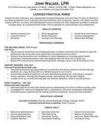 Resume For Licensed Practical Nurse Lpn Nursing Examples Sample