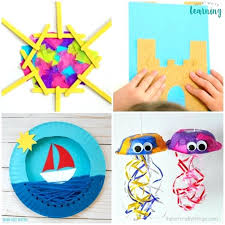 Super Easy Fun Summer Crafts For Kids