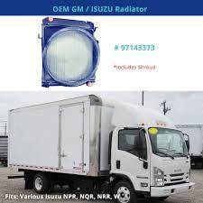 100 Npr Truck OEM 97143373 GM Isuzu Radiator Fits Various W NPR NQR NRR