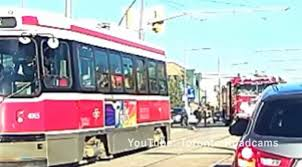 100 You Tube Fire Truck A Distracted Pedestrian Walked Into A Moving Firetruck In Toronto