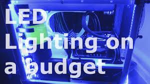 cheapest rgb pc led lighting setup 5050 44 key remote review
