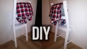 diy der stuhl für klamotten wir bauen einen halben stuhl