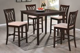 Dining Table With High Chairs New On Awesome Charming Chair Room Set 95 For