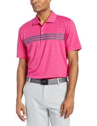 adidas mens puremotion climacool 3 stripes chest golf polo shirts