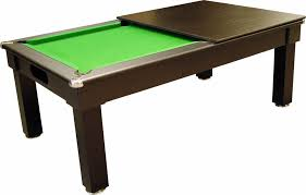 Optima Tuscany Black Pool Dining Table