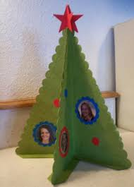 Pennant Die Christmas Tree Criss Cross Cards