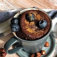 nutella tassenkuchen aus der mikrowelle einfaches mug cake