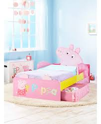 Peppa Pig Junior Toddler Bed With Storage