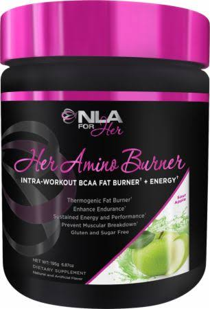 NLA for Her Amino Burner Energy Powder - Sour Apple, 195g