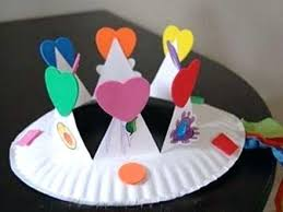 Arts And Craft With Paper Crafts Plates Art Projects