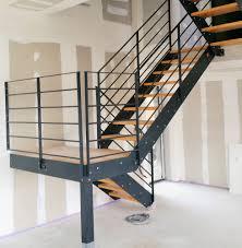 réalisations novasteel escalier métal