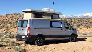 ModVans Turns The Ford Transit Into A Modular Modern Camper Van