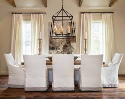 Pottery Barn Napoleon Chair Slipcover by Slipcovered Dining Chairs Homesfeed