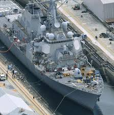 Uss America Sinking Photos by New Photos Show Damage To The Uss Fitzgerald Daily Mail Online