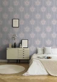 tapete vlies grau rosa barock 37552 3 375523