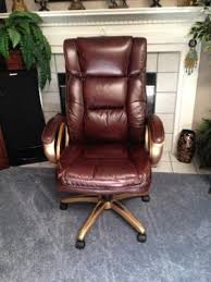 Walmart Swivel Chair Hunting by Broyhill Bonded Leather Executive Chair Walmart Com