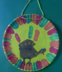 Thanksgiving Day Crafts For PreschoolersTurkey Craftspaper Plate