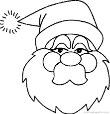 Christmas Santa Claus Coloring Pages 4 Free Printable