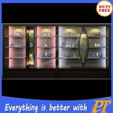 Furniture Showcase Perfumes Glass Display Para Mall Kiosk Perfume