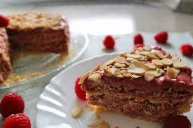 himbeer mandel torte ohne backen aus der pfanne einfaches