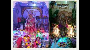 Varalakshmi Vratham Decoration Ideas by Varalakshmi Pooja వరలక ష మ వ రత Decoration Ideas