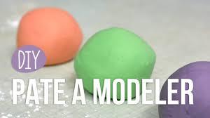 diy faire sa pâte à modeler soi même