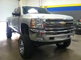 2012 Chevy 1500 6inch Lift Kit With 3 Inch Body Lift 35