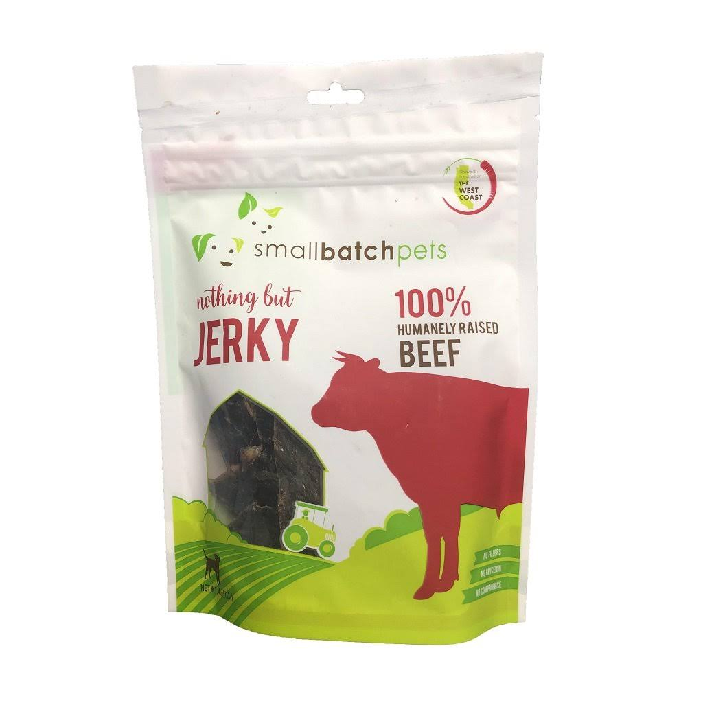 Smallbatch Jerky Dog Treats - Beef Heart, 4 oz