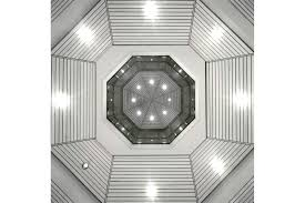 Tilton Coffered Ceiling Canada by Halls Of Justice By Acla Vaulted Octagonal Ceiling Architecture