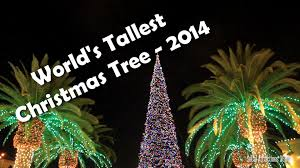 HD Tallest Christmas Tree In The World 2014
